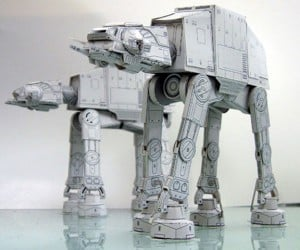 Awesome DIY Star Wars Papercraft