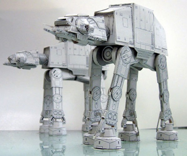 Awesome DIY Star Wars Papercraft
