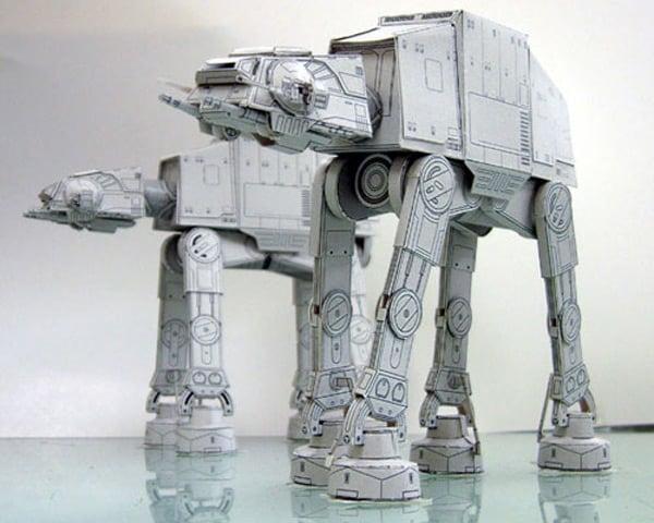 papercraft japan star wars art craft