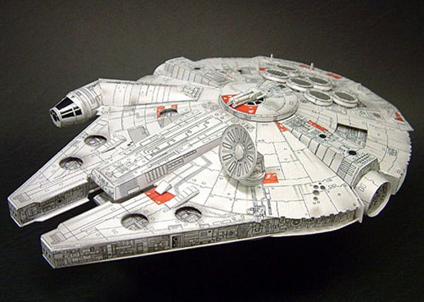 papercraft japan star wars art craft