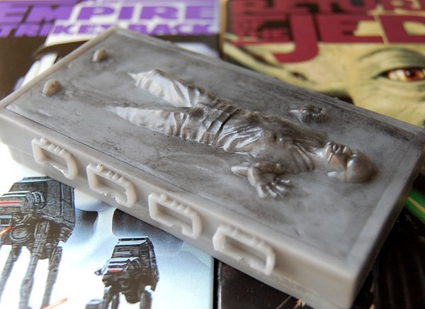 han solo carbonite star wars empire strikes back soap