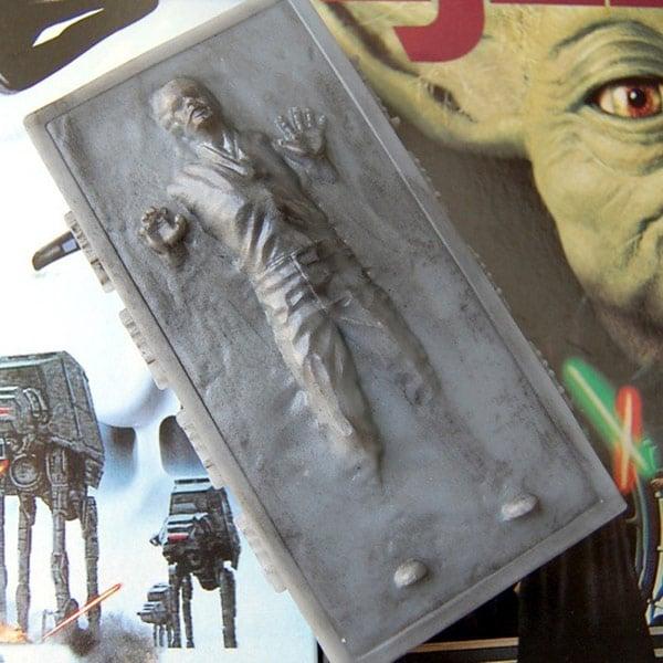 han solo empire strikes back star wars carbonite soap