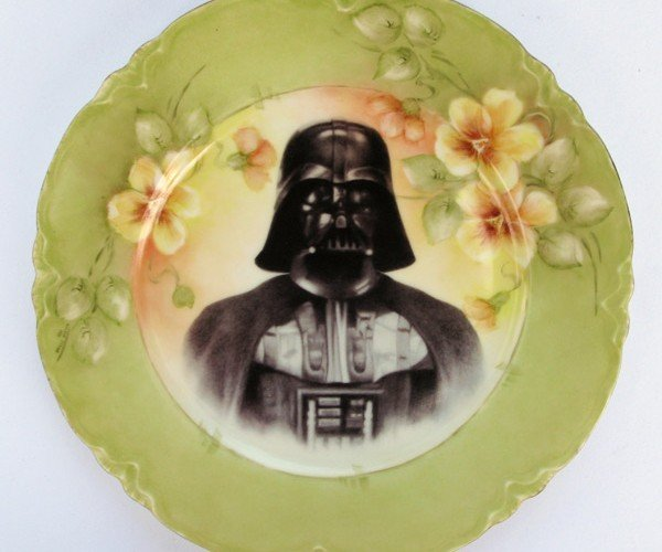 Star Wars Antique Plates: the Forks Are Not With Them