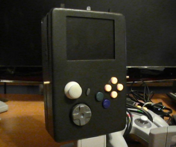 The 64-Boy: the Littlest N64 Console