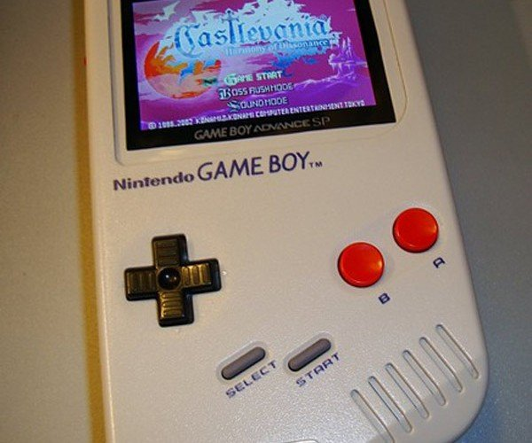 Game Boy Advance Sp Gets an Original Gameboy Retrofit