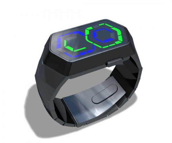 Tokyoflash Supersonic: New Concept Watch Perfect for Robots
