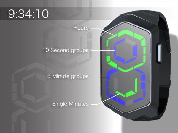 tokyoflash supersonic watch timepiece japan