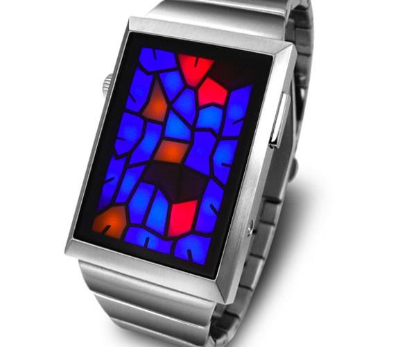 Tokyoflash Kisai Broke Watch Looks Like Shards of Broken Glass