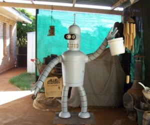 Life Size Bender Will Bend Your Socks Off!