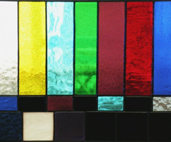 Stained Glass Tv Test Pattern: Calibrate Your Windows