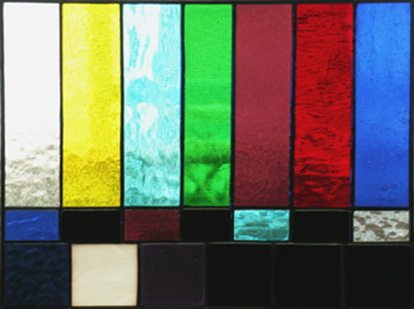 stained glass tv test pattern calibrate your windows