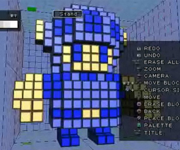 3d Dot Game Hero Character Creator in Action
