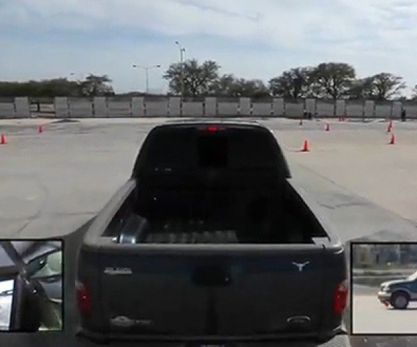3rd Person Driving in Real Life: a Panoramic View of Failure