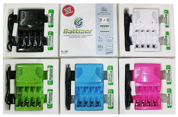 Battizer battery charger