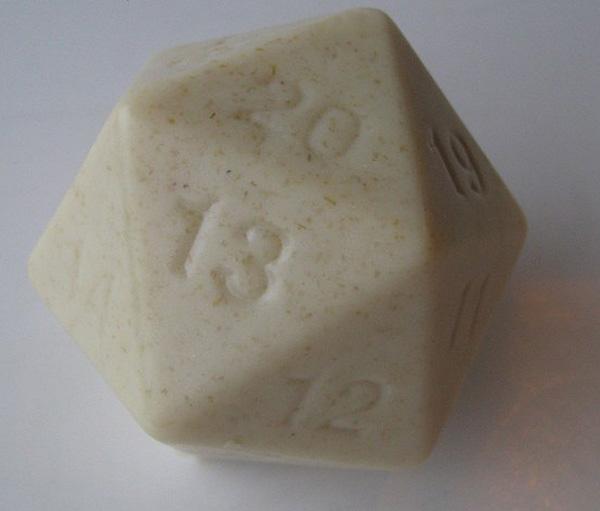 D20 Geek soap