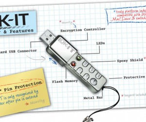 Lok-It Secure Flash Drive: No Pin, No in
