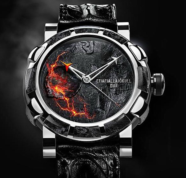 Romain Jerome volcano Eyjafjallajökull-DNA watch