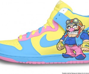 Wario Nike Dunks: the Real Wariowear
