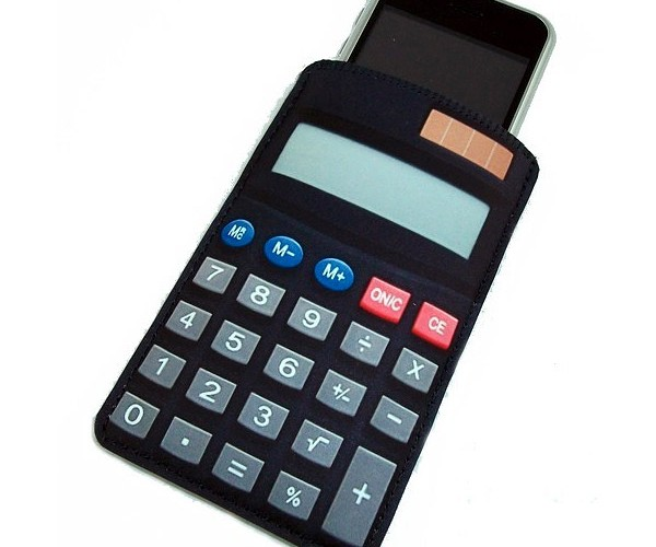 Calculator Case Turns Your Modern Gadgets Into Retro Tech