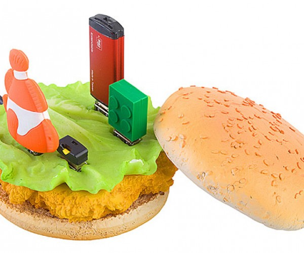 Chicken Burger USB Hub: Why?