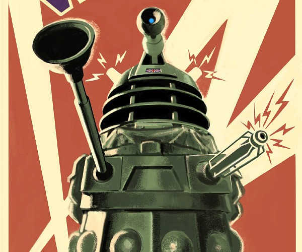Dalek Poster Will Ex-Ter-Mi-Nate All Other Posters