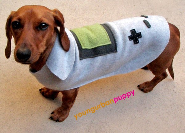 game boy dog costume