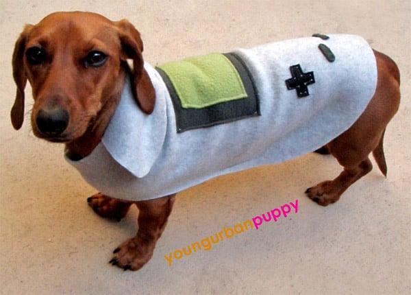 game_boy_dog_costume & Mario and Princess Peach Dog Cosplay - Technabob