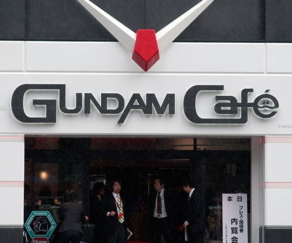 gundam cafe 1