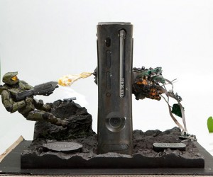 Weta Halo Xbox 360 Casemod Explodes Onto Ebay