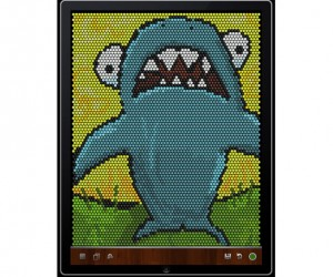 Ibrite Drawing App for iPad: Lite Brite 2.0