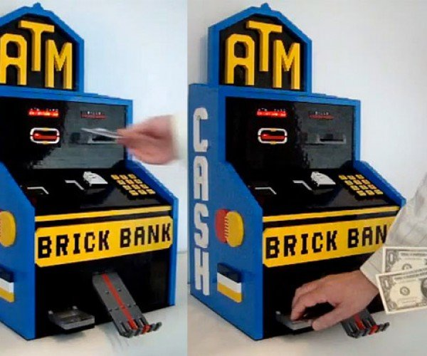 LEGO ATM Doesn't Charge Any Fees for Withdrawals