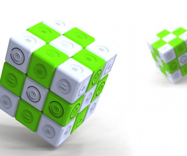Magic Charger Cube Uses Motion to Make Power