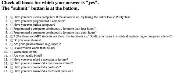 nerd test