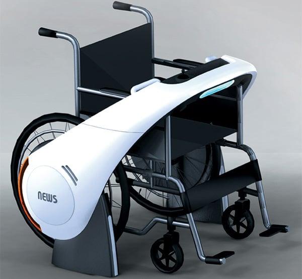 news wheelchair