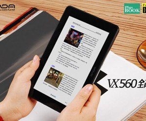 Onda Vx560 Flat-Screen Media Player Looks Like a Mini-Tablet Swallowed an E-Book Reader