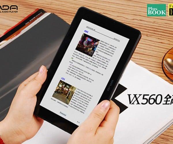 Onda Vx560 Flat-Screen Media Player Looks Like a Mini-Tablet Swallowed an E-Book Reader