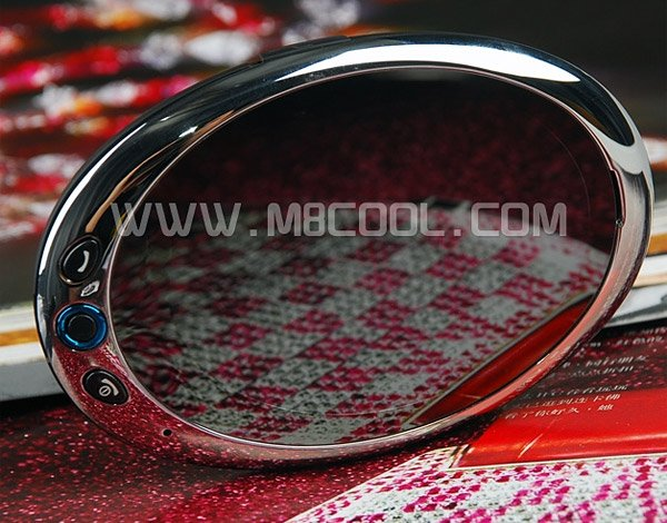 oval leady iphone mirror