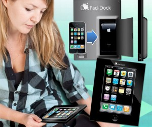 Pad-Dock iPhone to Tablet Converter Promises to Make Your iPhone an iPad