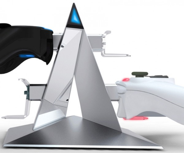 Power Pyramid Supreme Dock for PS3 and Xbox 360: Monumental Style