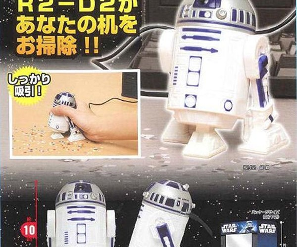 R2-D2 USB Vacuum Cleans Up the Dark Side of Your Desktop