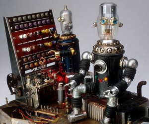 Strange and Beautiful Junk Robots