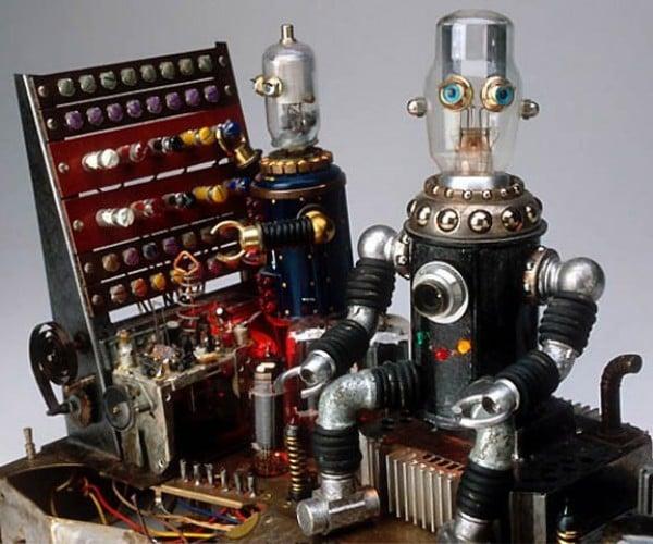 Strange and Beautiful Junk Robots