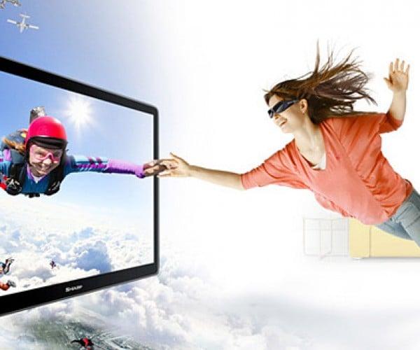Sharp Intros 4-Color 3d Television Tech