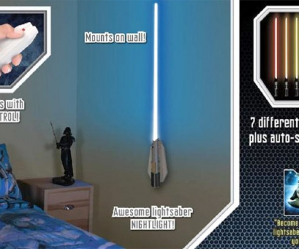 Lightsaber Nightlights: Sleep With the Force
