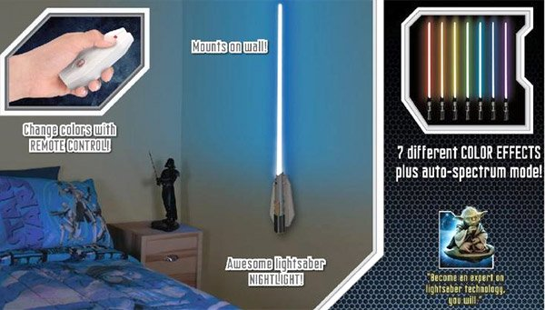 star wars lightsaber nightlights