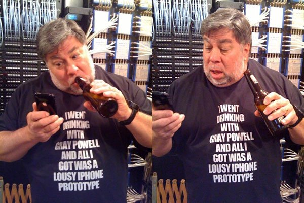 steve wozniak gray powell shirt
