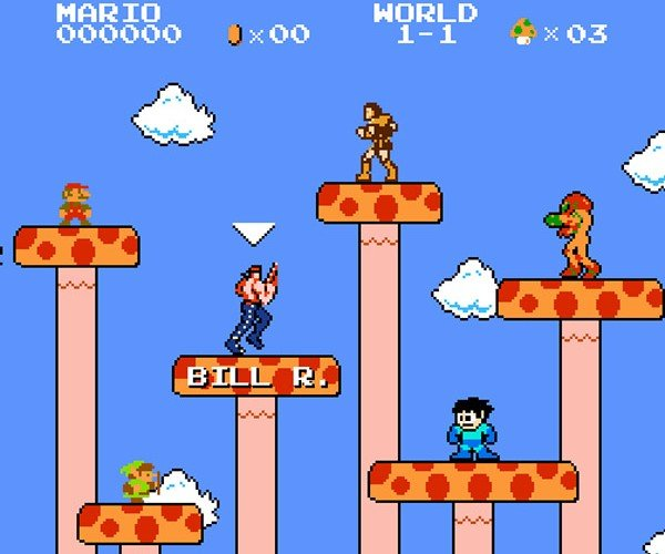 Super Mario Crossover: Pants-Wetting 8-Bit Mashup