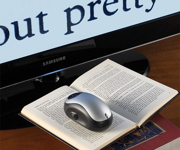 Page-to-Tv Magnifier Puts Your Old Tv to Good Use