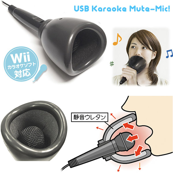 wii usb karaoke mute mic