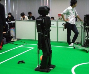 Japanese Soccer Robot Could Put Human Players Out of Business